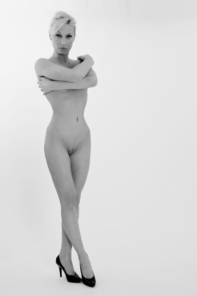 Photo in Random #woman #girl #body #high-heels #erotic #sexy #monochrome #piercing #nude #nudes #naked #look