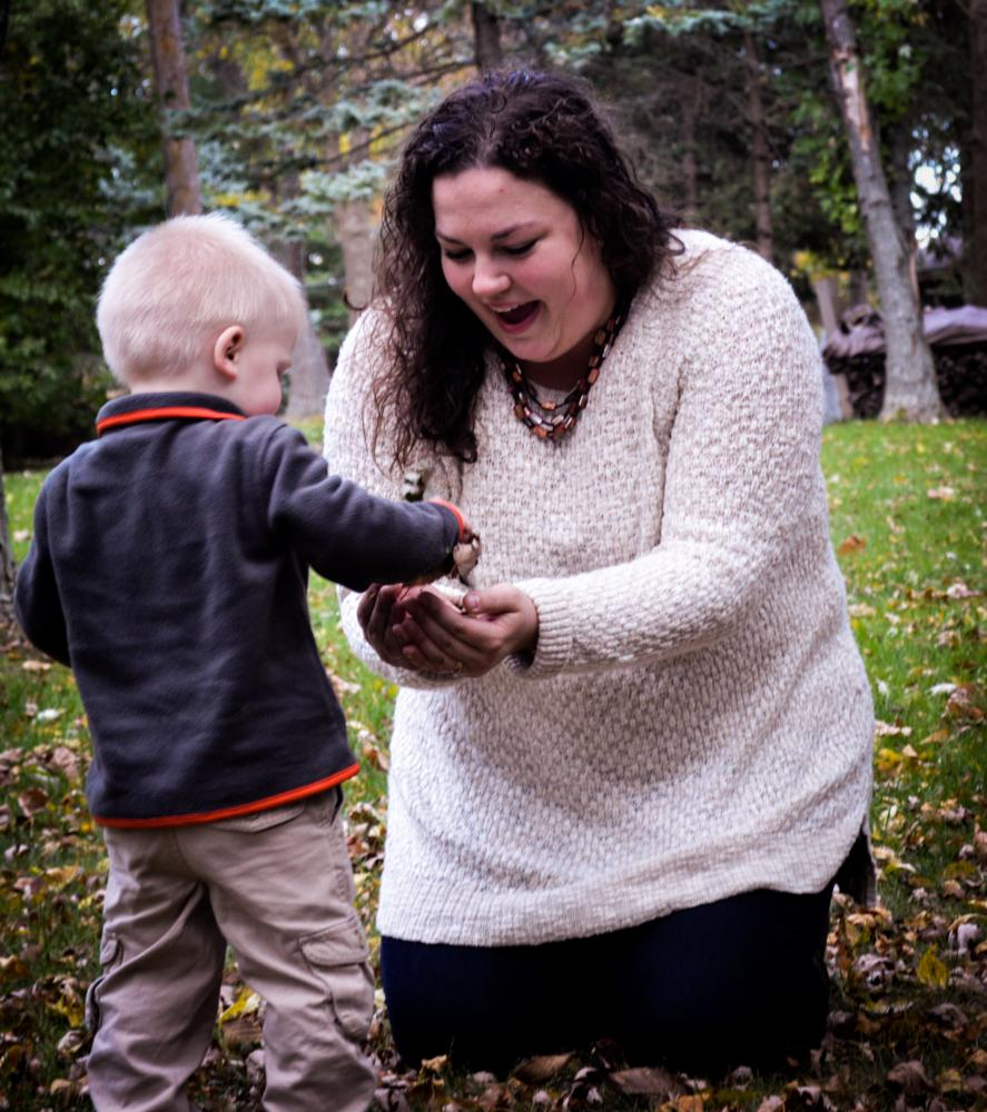 Photo in Portrait #mother and son #family #fall #portraits