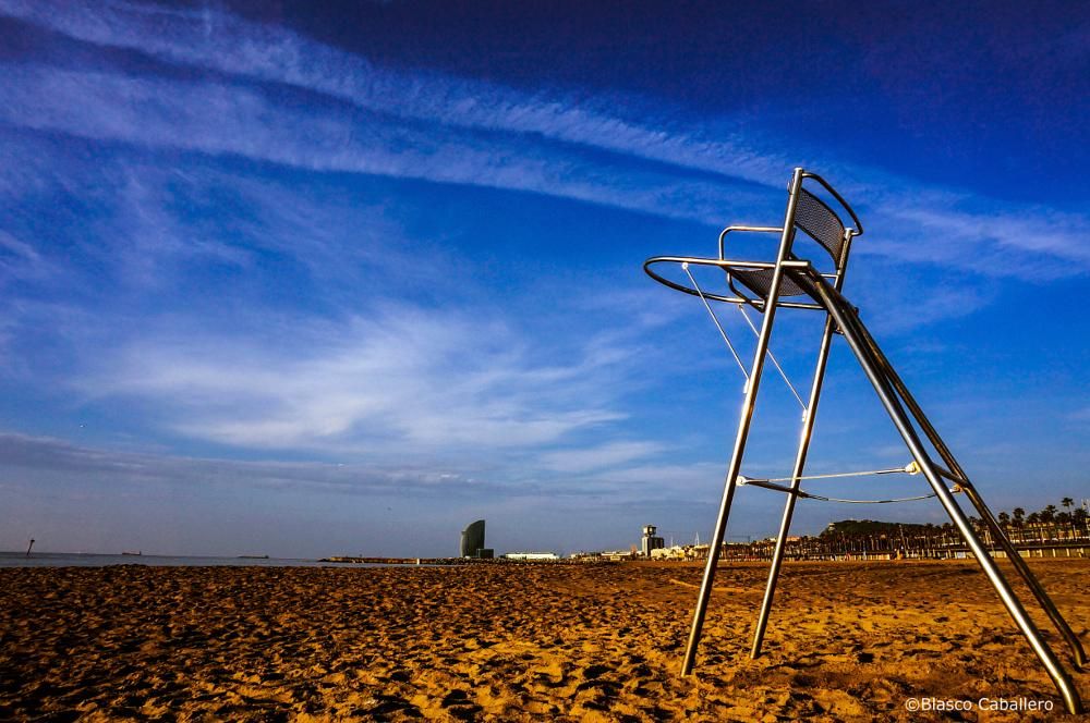 Photo in Sea and Sand #vigía #baywatch #vigilante #playa #beach #lifeguard