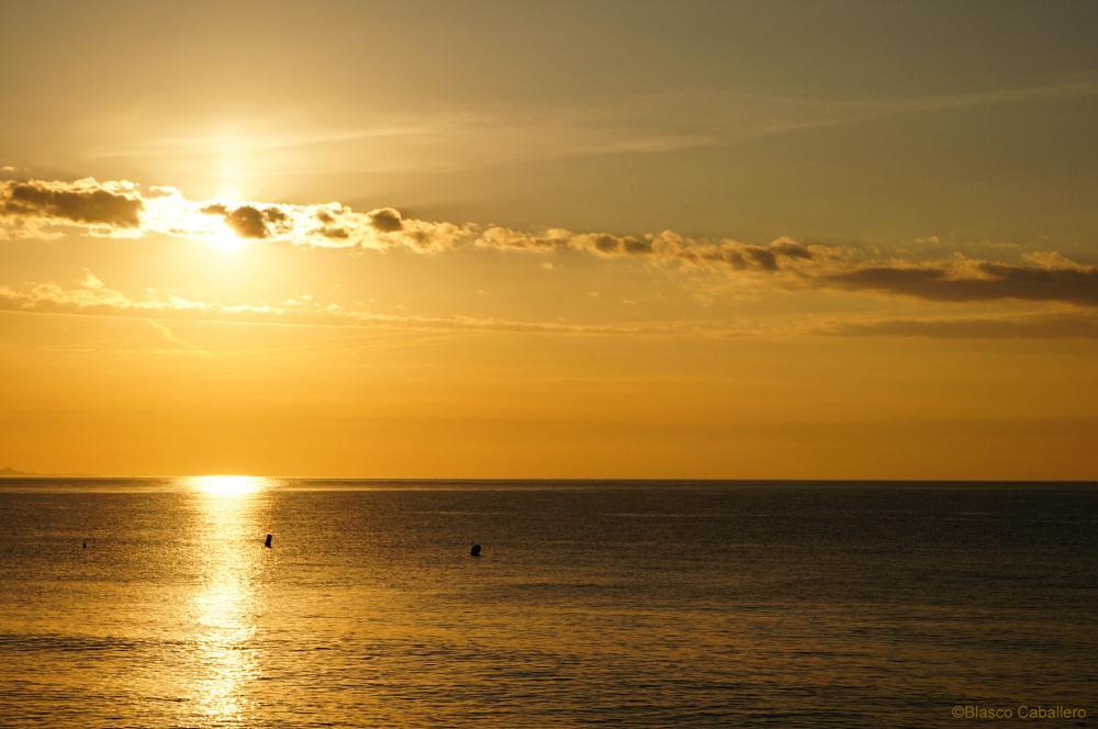 Photo in Sea and Sand #sunrise #amanecer #seascape