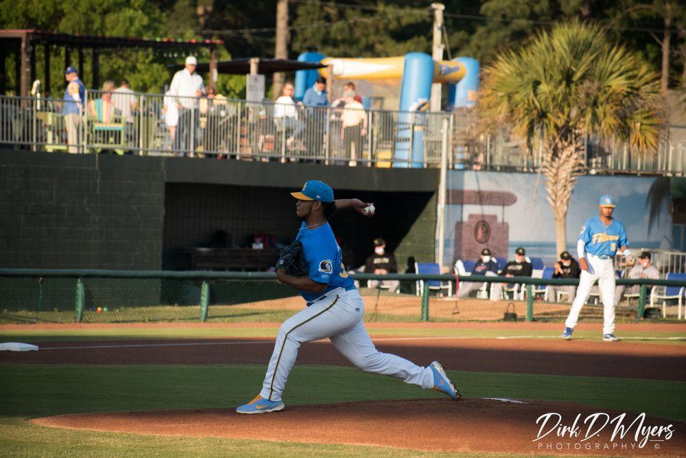 Photo in Sports #pitcher #game #baseball #ball #hat #sports #south carolina