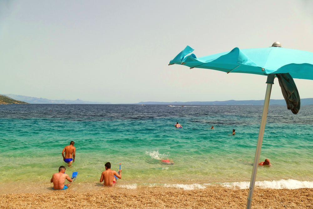 Photo in Sea and Sand #ocean #sea #summer #colors #travel #beach #adriatic