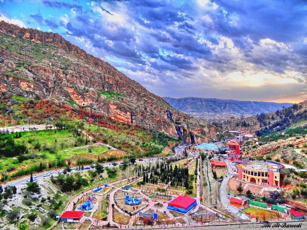 Photo in Cityscape #duhok #iraqi kurdistan #mountains
