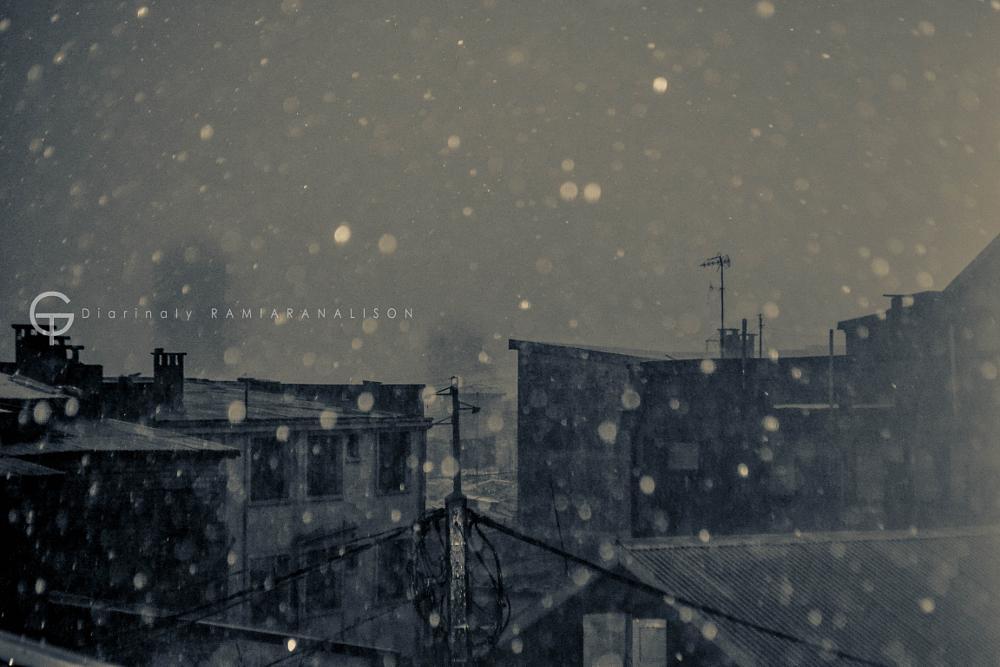 Photo in Black and White #rain #black #white #b&w #landscape