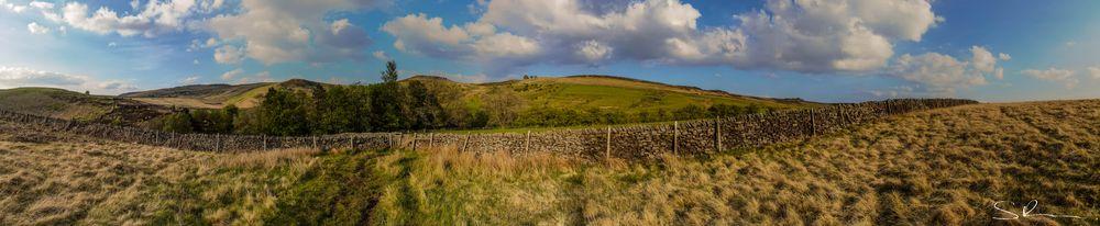 Photo in Landscape #peak district #panorama #landscape #panoramic