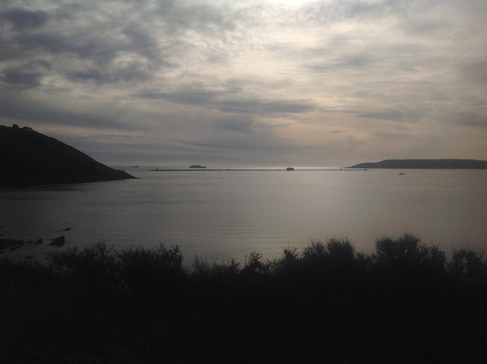 Photo in Random #sky #water #land #ship