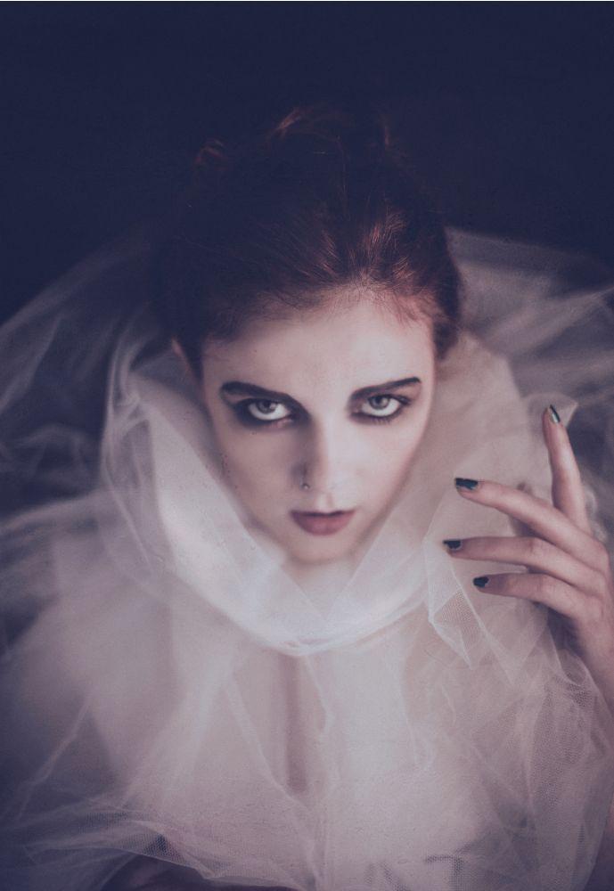 Photo in Fine Art #alicerage #model #scottish #redhead #marieantoinette #juliegibson #dark #art