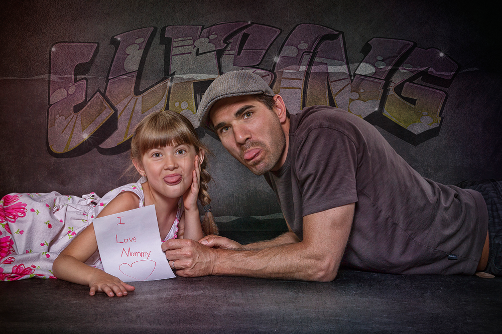 Photo in Family #elfring #straubing #germany #schindler #people #fotostyle #photoshop #retouching #montage #studio
