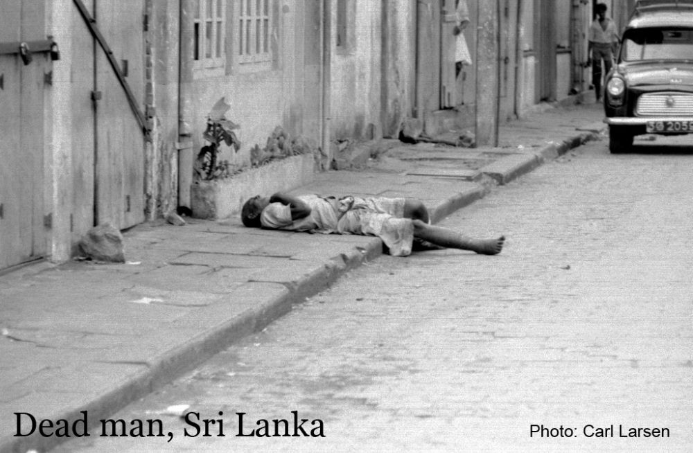 Photo in People #sri lanka #carllarsen #dead man