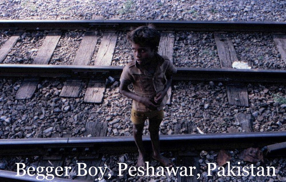 Photo in People #pakistan #carllarsen #begger #boy