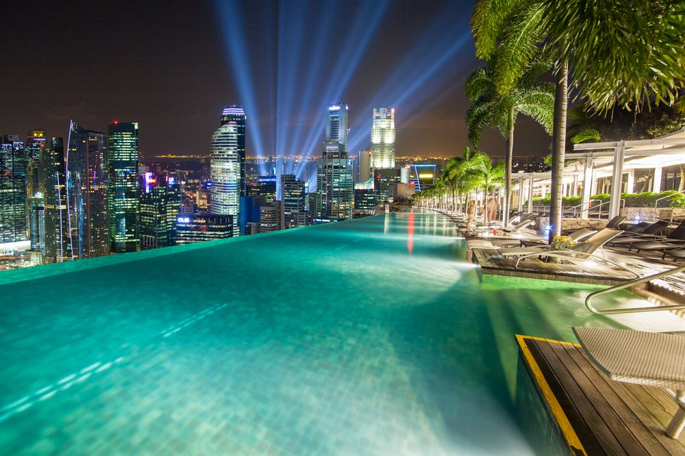 Photo in Cityscape #singapore #architecture #skylines #cityscapes #pools #asia #cities