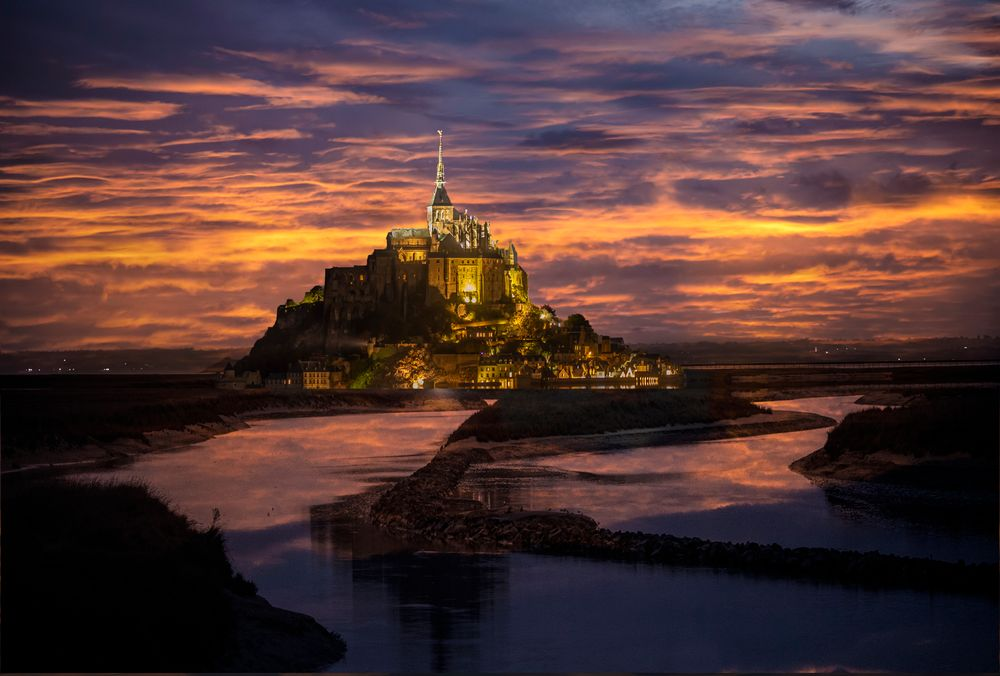 Photo in Travel #architecture #travel #france #icons #monuments #le mont st. michel