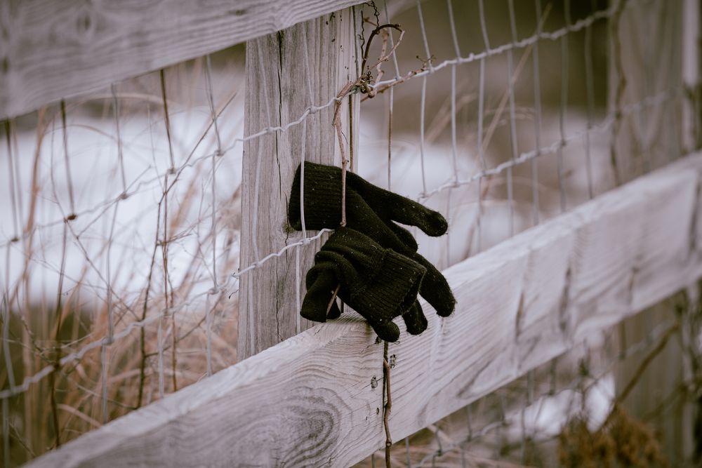 Photo in Random #beach #bokeh #fence #sad #snow