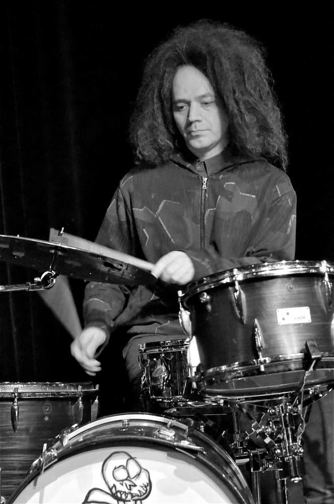 Photo in Black and White #gb #sons of kemet #hnita jazz club #heist o/d berg #belgium