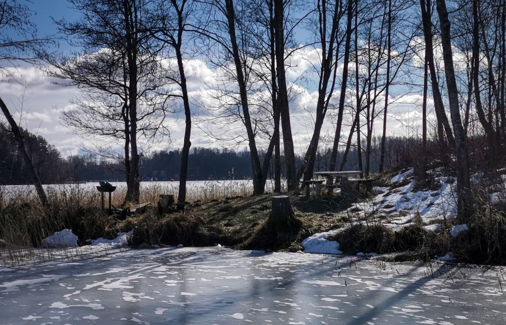 Photo in Nature #lake #ice #relax #nature