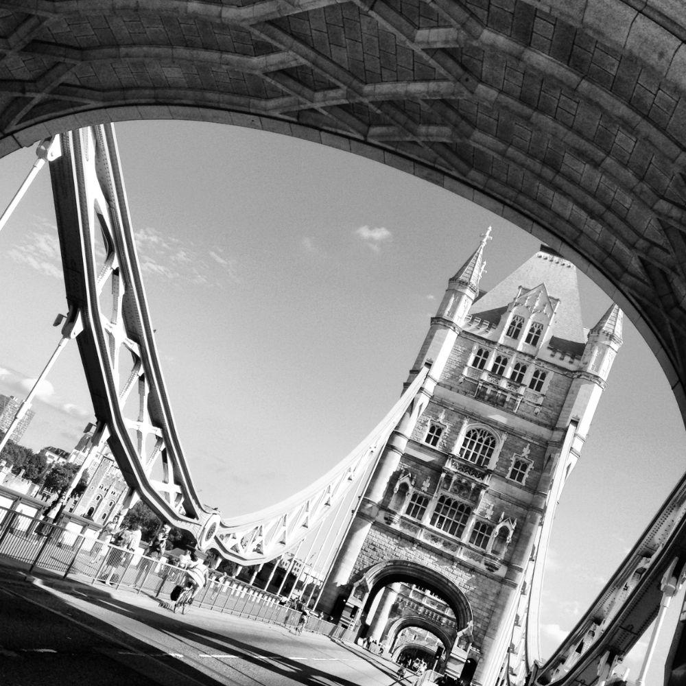 Photo in Architecture #tower #bridge #tower bridge #tower of london #london #blue #stone