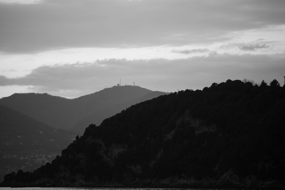 Lerici in black and white