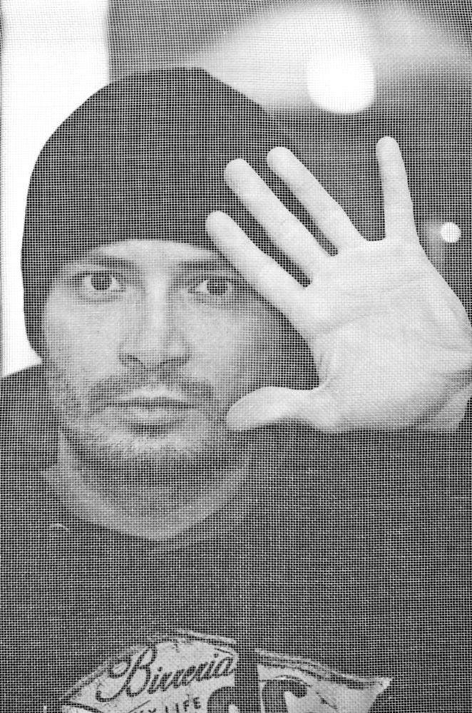 Photo in Black and White #me #portrait #bw #bn #nikon #d7000 #nital #people #italian #italy #sicily