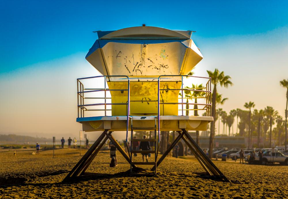 Photo in Street Photography #san diego #beach #ocean #ocean beach #lifeguard #sand #sky