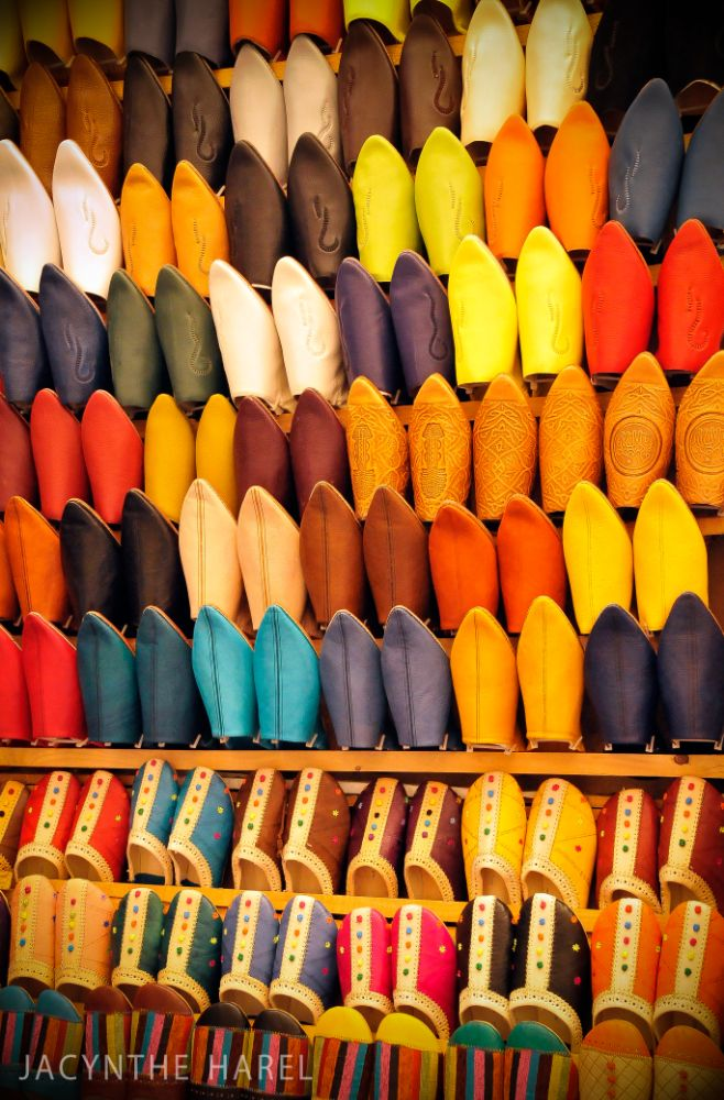 Photo in Travel #maroc #morocco #babouche #sandals #color