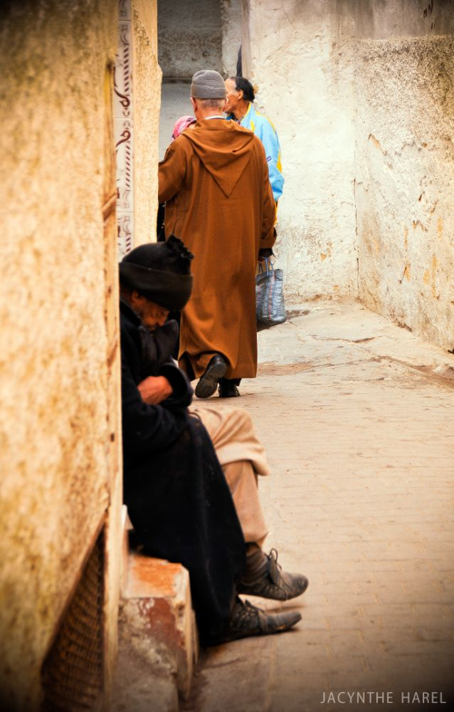 Photo in Travel #ruelle #fes #maroc #morocco #homme #man