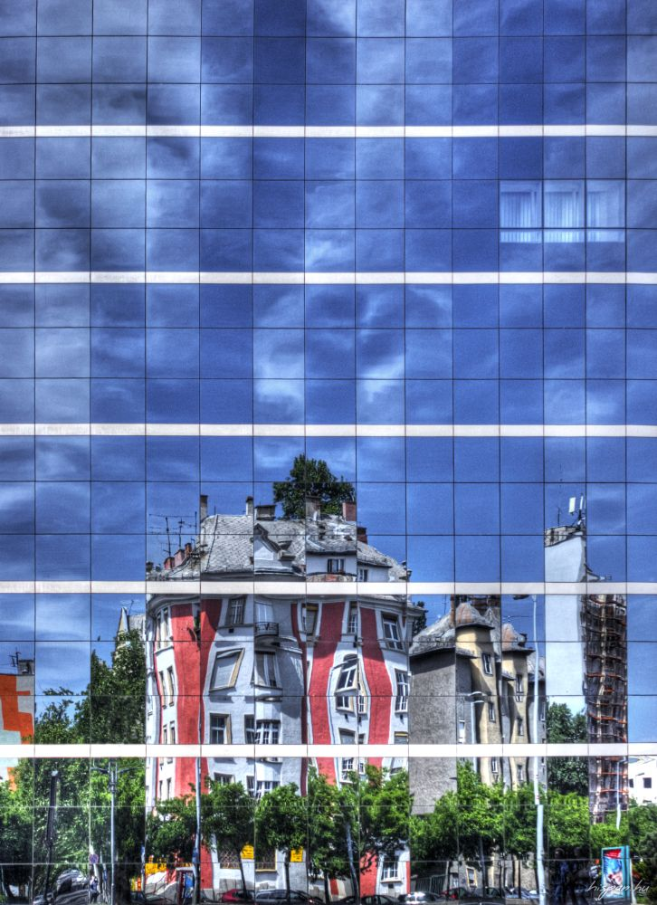 Photo in Architecture #mosaic #budapest #window #windows #hungary #hu #hun #canon #building #mirror
