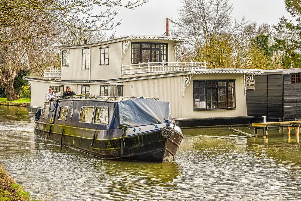 Photo in Travel #countryside #canal boats #waterways #transport #living #history #walking