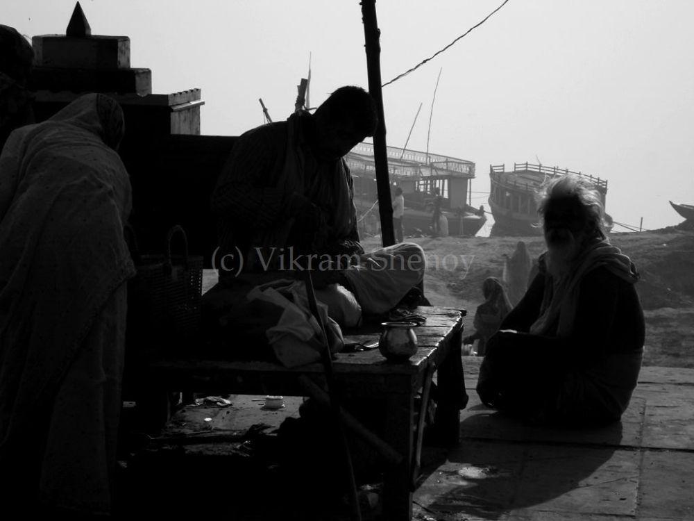 Photo in Street Photography #varanasi #candid #street