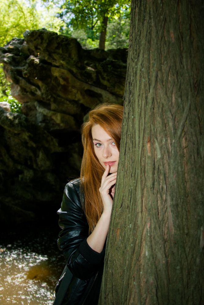Photo in Portrait #model #ginger #beauty #romania #bucharest