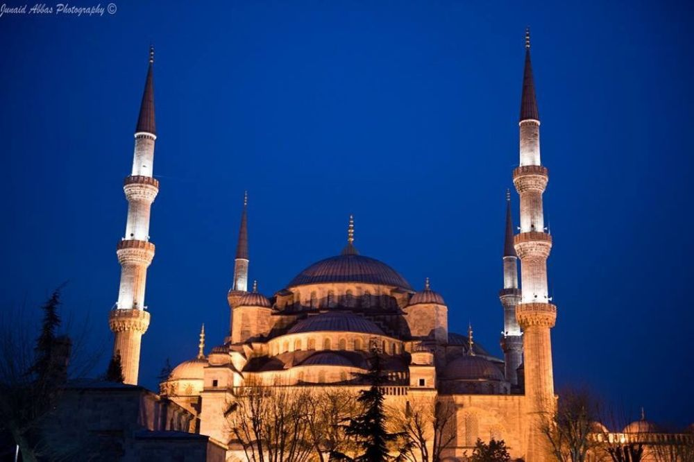 Photo in Architecture #mosque #masjid #blue mosque #sultan ahmet #turkey #istanbul