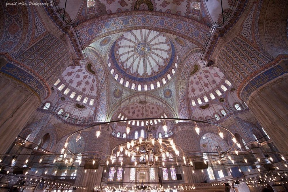 Photo in Architecture #blue mosque #mosque #masjid #sultan ahmet mosque #turkey #istanbul
