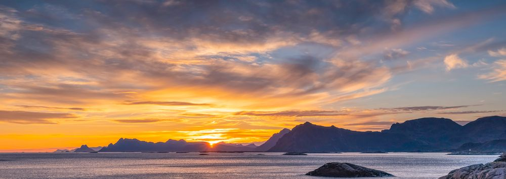 Photo in Landscape #sunset #lofoten #norway