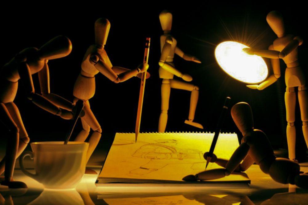 Photo in Still Life #toys #conceptual #drawing #artist #adikolektor