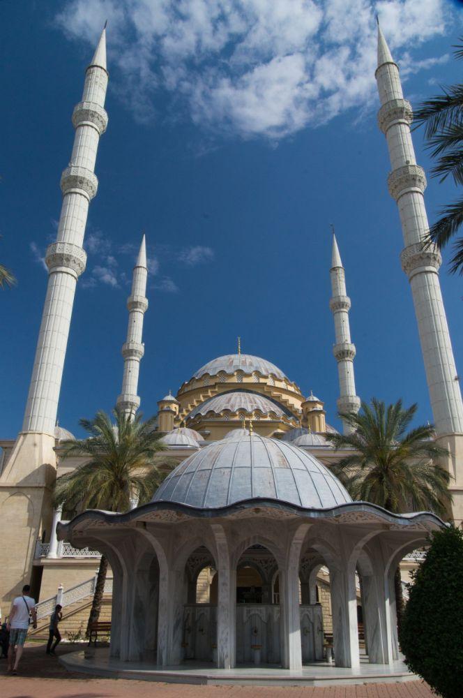 Photo in Architecture #mosque #bathhouse #religion #bleu sky
