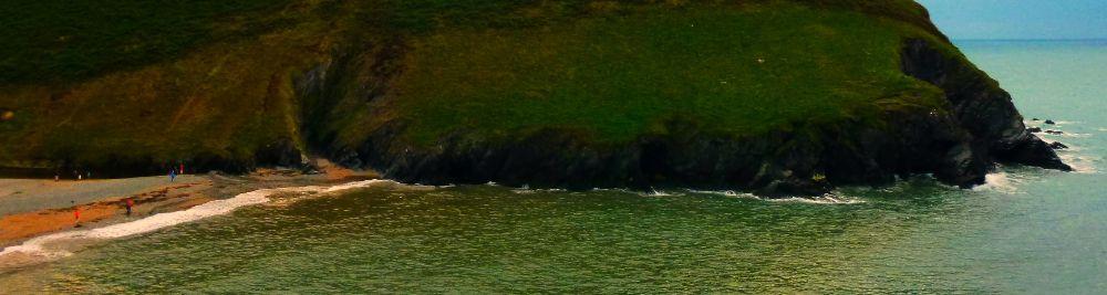 Photo in Sea and Sand #wales #ceredigion #sea
