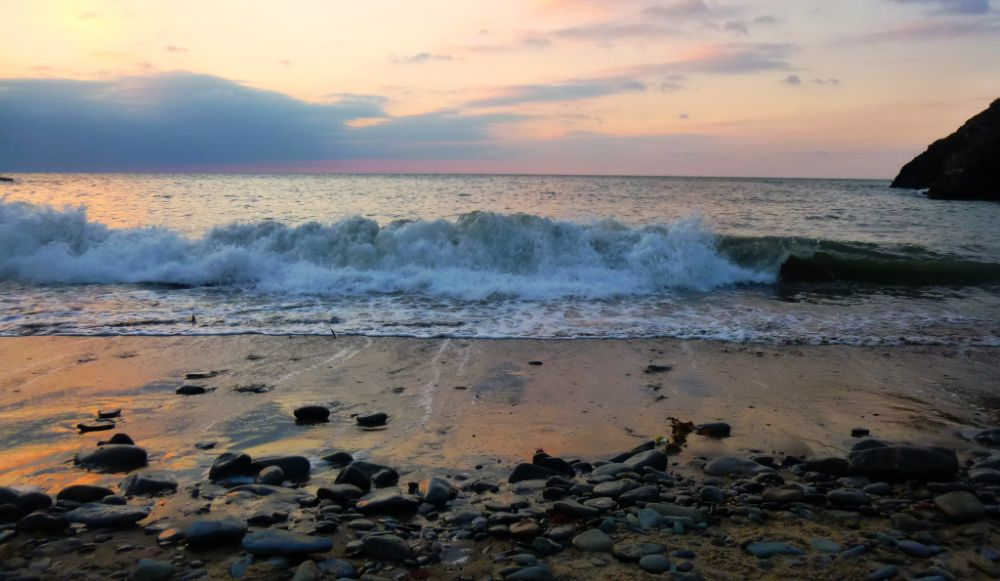 Photo in Sea and Sand #wales #sea #sunsets