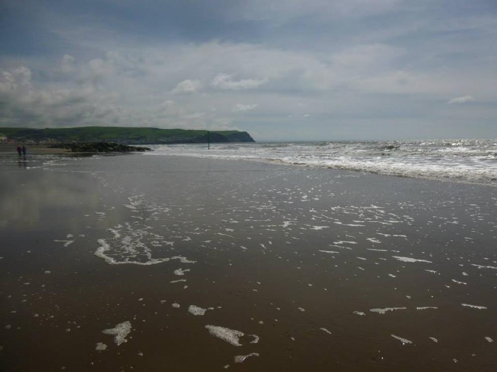 Photo in Sea and Sand #wales #ceredigion #sea #sand