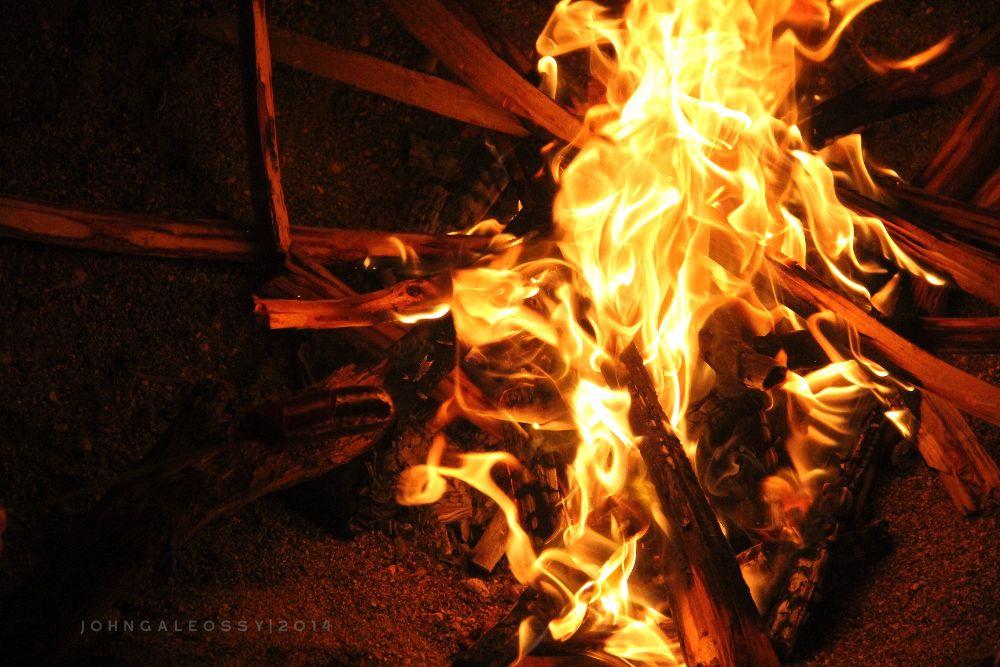Photo in Nature #bonfire #fire #argao #cebu