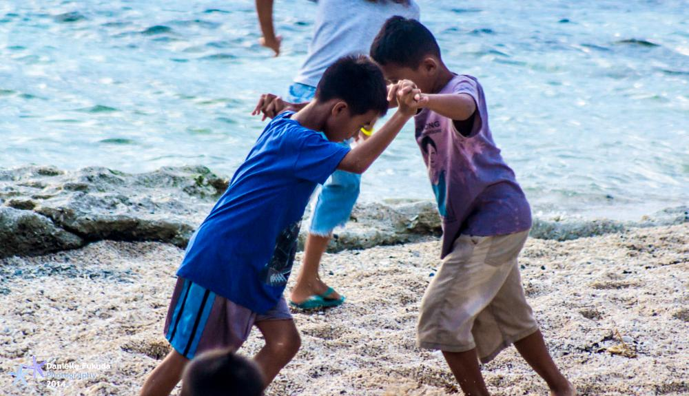 Photo in People #play #children #beach #sand #culture