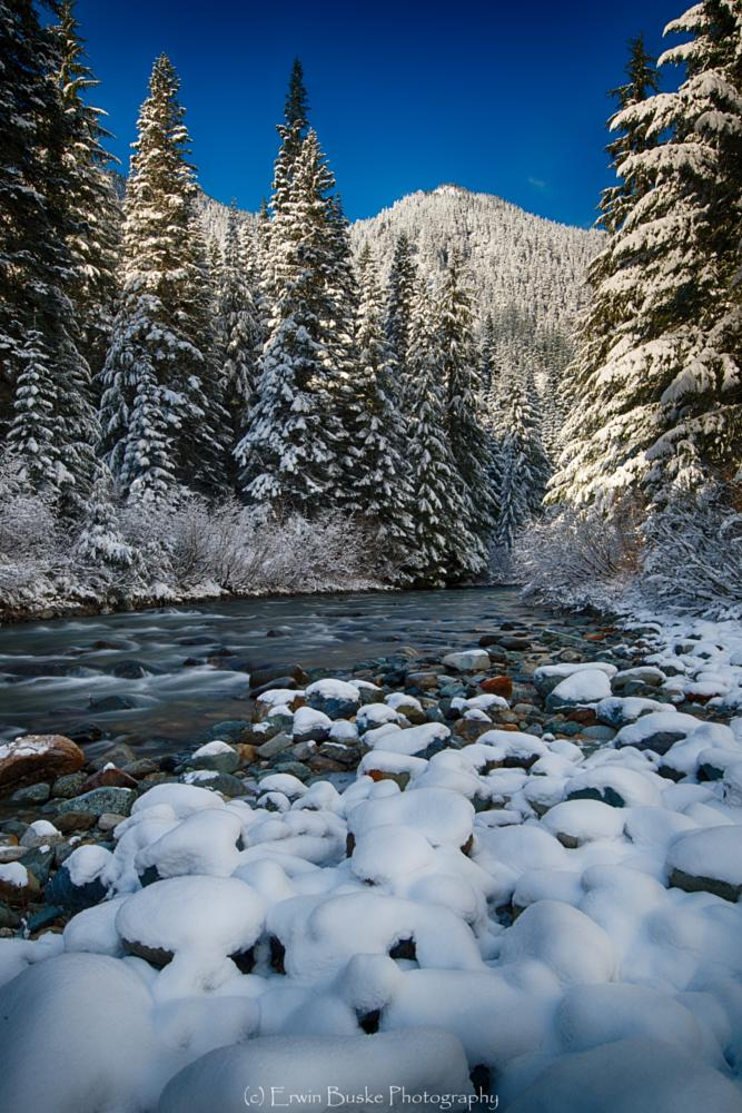 Photo in Landscape #gold creek #snowqualmie pass #washington state #winter #boulders