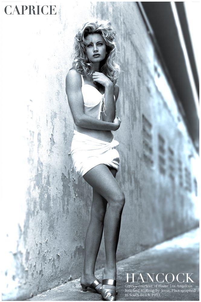 Photo in Fashion with model Caprice Bourette #caprice bourette #tmax 100 #south beach #fashion #jim hancock