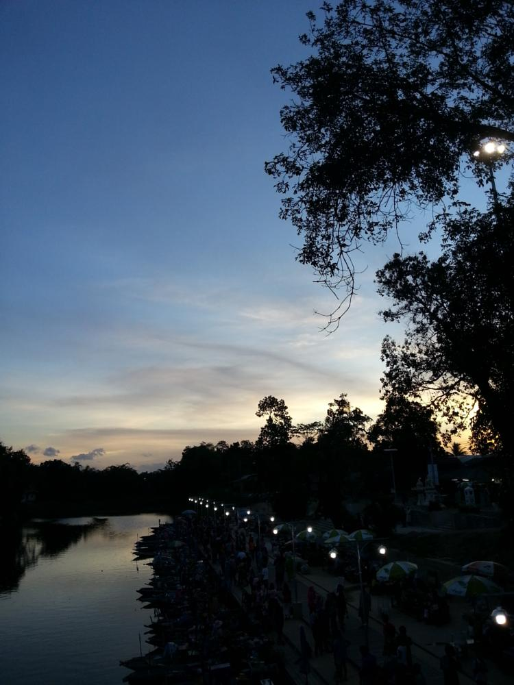 Photo in Nature #udive #hatyai #thailand #floating market