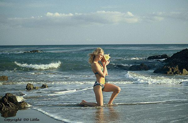 Photo in Sports #swimsuit #playboy centerfold #malibu beach