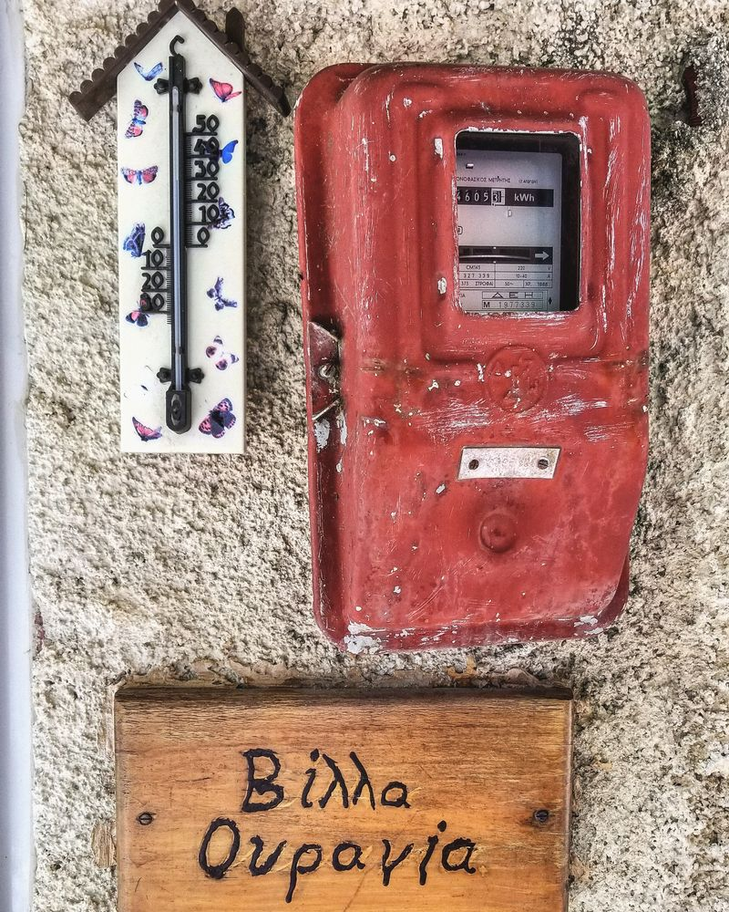 Photo in Travel #signs #homes #greek #greece #vintage #travel #family