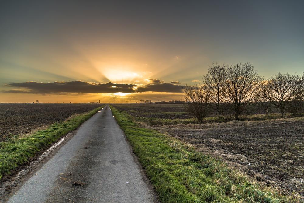 Photo in Landscape #rural #landscape #sunset