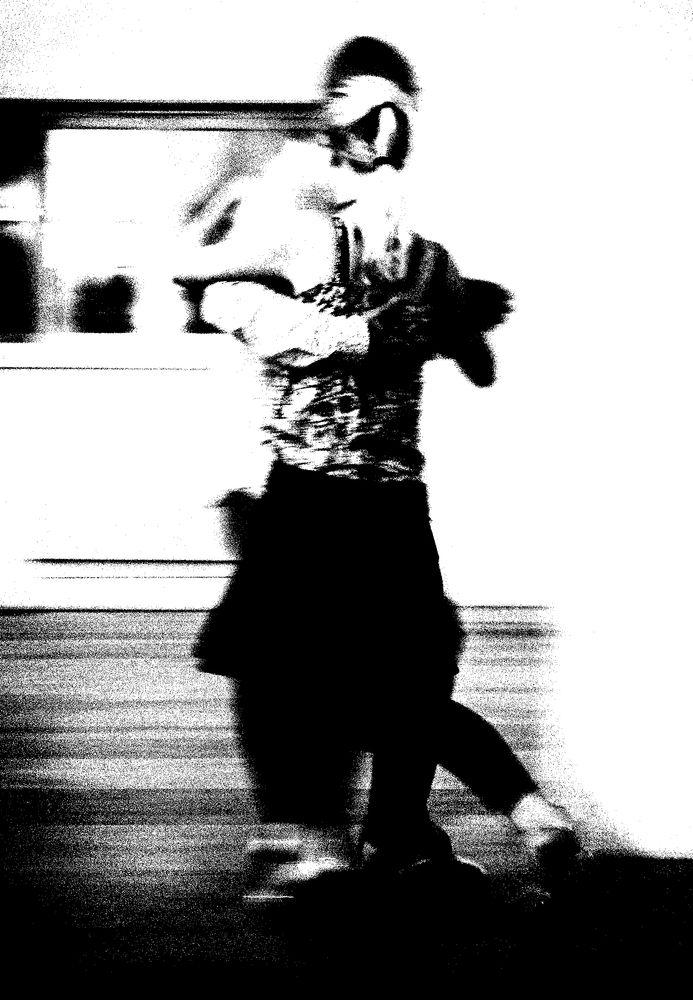 Photo in People #olympus #dance #bw #monochrome #couple #people #art #artwork
