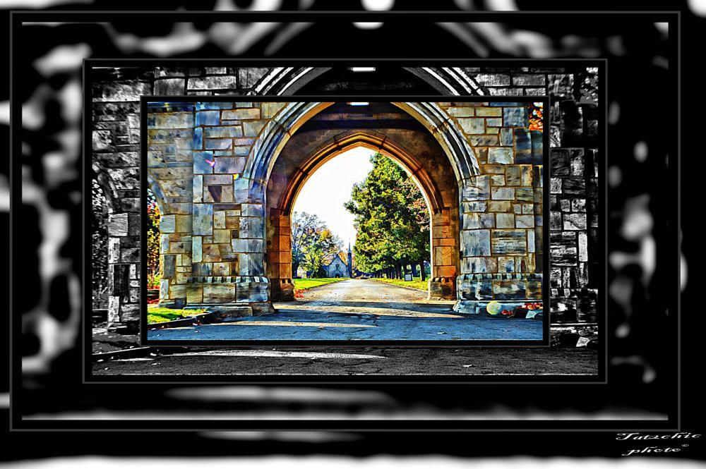 Photo in Architecture #cemetery