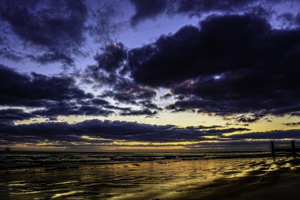 Photo in Sea and Sand #beach #sea #sunrise
