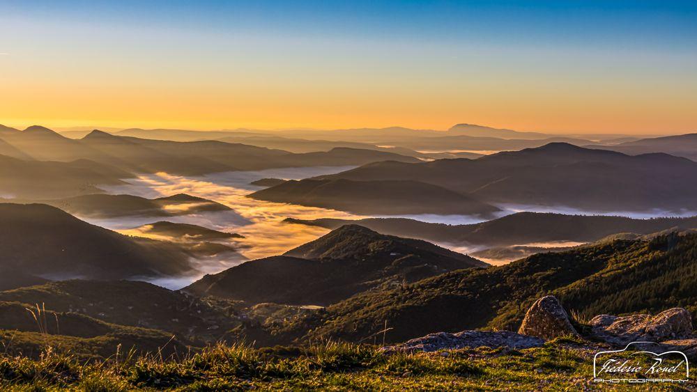 Photo in Landscape #cevennes #mountain #montagne #sun #sky #cloud #nature #landscape