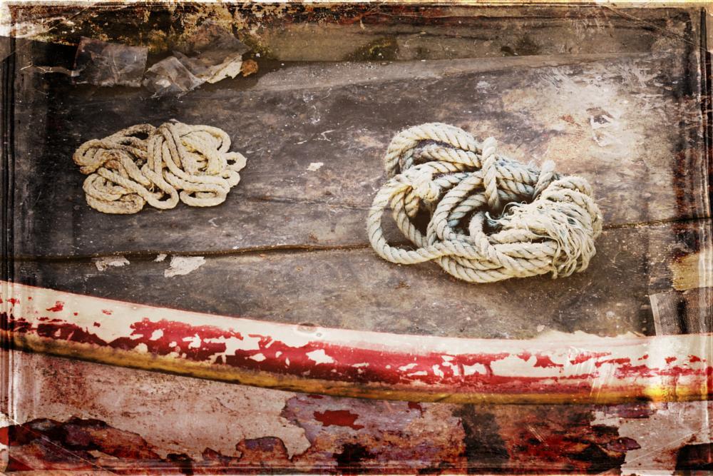 Photo in Vintage #rope #boat #vinatge